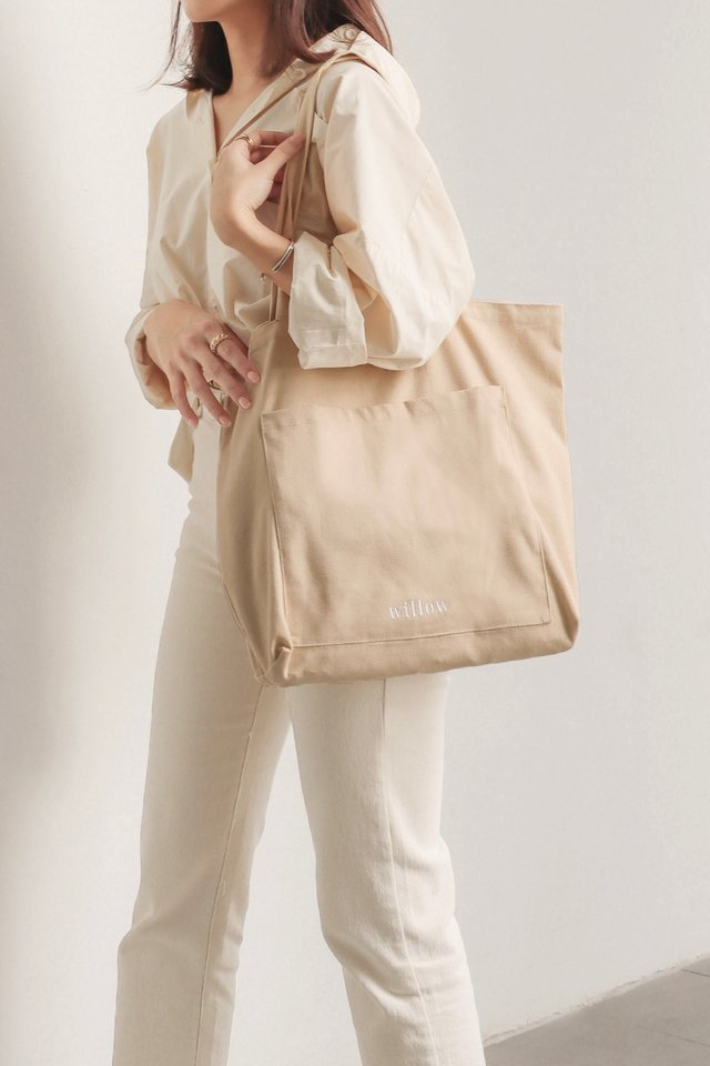 THE MINIMALIST TOTE KHAKI