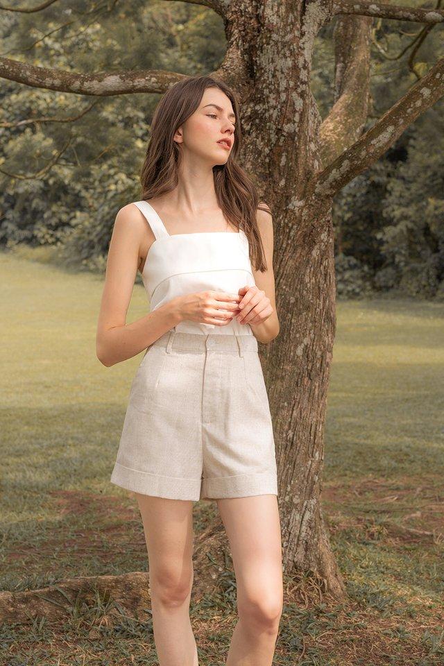 ELAINE TANK TOP WHITE